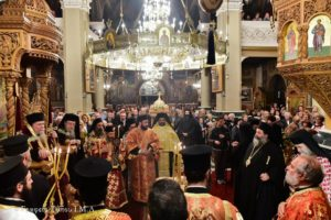 Ι.Μ.Λαγκαδά: Πανηγυρικός Εσπερινός για τον Άγιο Ιωάννη τον Χρυσόστομο