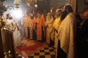 Η εορτή των Εισοδίων της Υπεραγίας Θεοτόκου στην Πάτρα