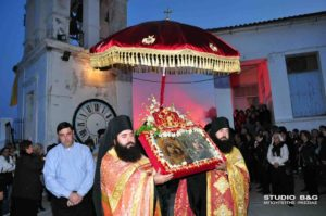 Άργος: Εορτάζει η Παναγία η Κατακεκρυμμένη