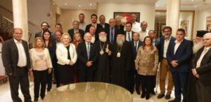 Λεμεσός : Δείπνο προς τιμήν του Αλεξανδρείας Θεόδωρου