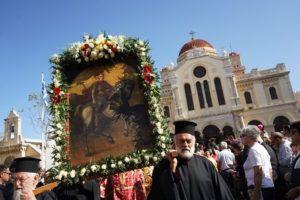 Η πρωτεύουσα της Κρήτης τιμά το θαυματουργό Πολιούχο της Αγιο Μηνά – ΗΡΑΚΛΕΙΟ ΤΩΡΑ