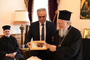 Φανάρι: Επιτροπή της Βουλής των Ελλήνων στον Οικουμενικό Πατριάρχη