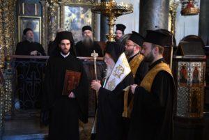 Ο Οικ. Πατριάχης τέλεσε Τρισάγιο για τον μακαριστό Αρχιεπίσκοπο πρώην Θυατείρων και Μ.Βρετανίας