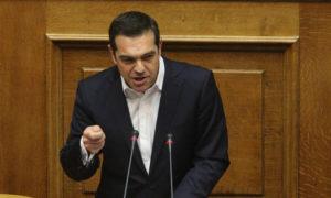 Ο Τσίπρας έκανε … θρησκευτικά στη Βουλή – Η απάντηση του Υπουργού Επικράτειας