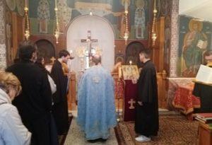 Θεία Λειτουργία για την Αγία Βαρβάρα στο Παρεκκλήσιο της Α.Ε.Α.Α.