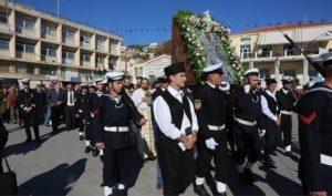 Λαμπρός ο εορτασμός του «Αγίου των θαλασσών» στο Πλωμάρι (ΦΩΤΟ)