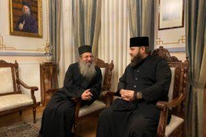 Αντιπροσωπεία της Αυτοκέφαλης Εκκλησίας της Ουκρανίας στο Αγιον Ορος