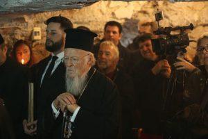 Ο Πατριάρχης Βαρθολομαίος στη φυλακή της Αγίας Βαρβάρας