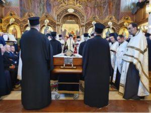 Η Εξόδιος Ακολουθία του μακαριστού Αρχιεπισκόπου Θυατείρων κυρού Γρηγορίου