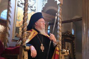 Ο Οικουμενικός Πατριάρχης στον πανηγυρίζοντα Ι.Ν. Αγίου Νικολάου Υψωμαθείων