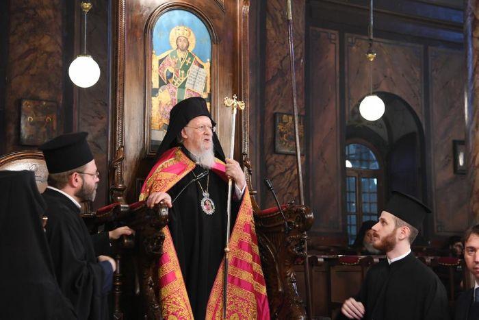 «Μήνυμα» Βαρθολομαίου προς Μόσχα για Αγιον Ορος και ουκρανικό
