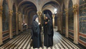 Ο Ναυπάκτου Ιερόθεος στην Ι.Μ. Αυστρίας