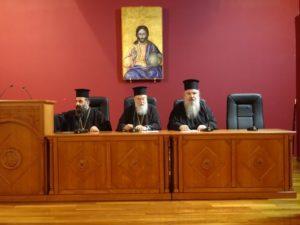Ο Γραμματέας της Ιεράς Συνόδου στη Μητρόπολη Κορίνθου (ΦΩΤΟ)