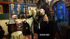 Ομιλία του Αρχιμ. Ειρηναίου Παναγιωτόπουλου στην Αγία Μαρίνα Αργους (ΦΩΤΟ)