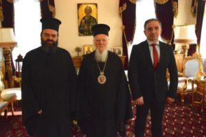 Ο Οικουμενικός Πατριάρχης σε δομή παροχής περίθαλψης και στήριξης προσφύγων