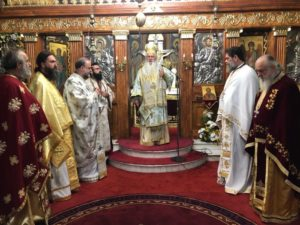 Εορτάστηκε ο Πολιούχος των Οινοφύτων Αγιος Σπυρίδων