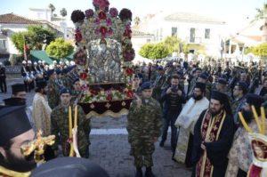 Η εορτή του Αγίου Σπυρίδωνος στη Μητρόπολη Αιτωλίας (ΦΩΤΟ)