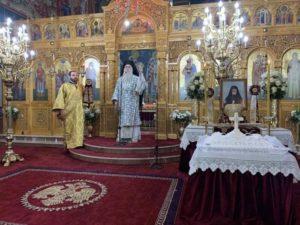 40νθήμερο Μνημόσυνο του πρ. Περιστερίου κυρού Χρυσοστόμου (ΦΩΤΟ)