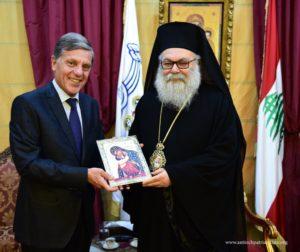 Στον Αντιοχείας Ιωάννη ο απερχόμενος Έλληνας Πρέσβης
