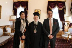 Ο Γεν. Πρόξενος του Κουβέιτ στον Οικουμενικό Πατιάρχη (ΦΩΤΟ)