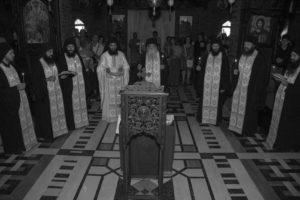Τρισάγιο για τον Γέροντα Εφραίμ της Αριζόνας στο μοναστήρι του Τρικόρφου