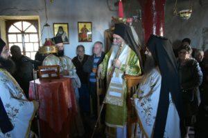 Αρχιερατική Θεία Λειτουργία στην Ι.Μ Προφήτη Ηλία Ερυθρών