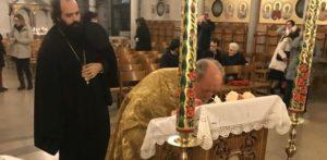 ΜΟΝΑΧΟ: Πρώτη Παράκληση στον Όσιο Σωφρόνιο μετά την αγιοκατάταξή του