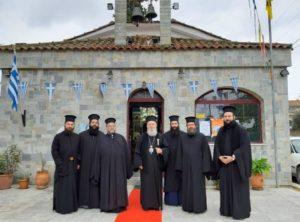 Ο Χαλκίδος Χρυσόστομος σε ενορίες της Βορείου Εύβοιας στην εορτή του Αγίου Νικολάου