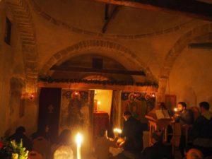 Πεντέλη: Πανηγυρικός Εσπερινός στην Ιερά Μονή Αγίου Νικολάου  Καλλισίων