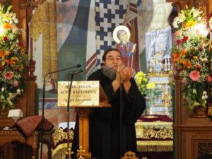 O π. Ευάγγελος Παπανικολάου, ομίλησε στον Ι.Ν. Αγίου Ελευθερίου Αχαρνών