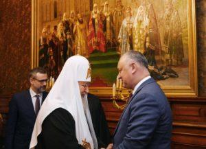 Στον Μόσχας Κύριλλο ο Πρόεδρος της Μολδαβίας