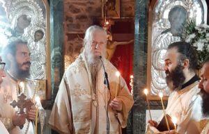 Τεσσαρακονθήμερο Μνημόσυνο Ηγουμένης Ι.Μ. Αγίου Χαραλάμπους Λευκών