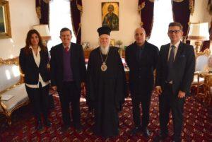Ο μεγάλος ευεργέτης Αθανάσιος Μαρτίνος στον Οικουμενικό Πατριάρχη