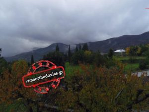 Καταρρακτώδεις βροχές στο Άγιον Όρος
