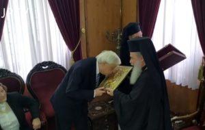 ΙΕΡΟΣΟΛΥΜΑ : Ο ΠτΔ ζήτησε από τον Πατριάρχη Θεόφιλο να στηρίξει το Φανάρι