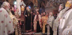 ΑΡΤΑ: Λάμπρος εορτασμός του Αγίου Νεομάρτυρα Ζαχαρία