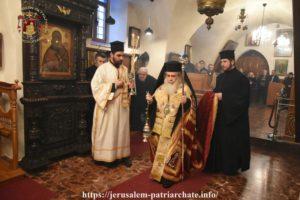 Η εορτή των Αγίων Θεοφανείων στα Ιεροσόλυμα
