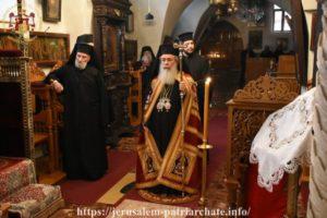 ΙΕΡΟΣΟΛΥΜΑ: Η Σύναξις της Υπεραγίας Θεοτόκου