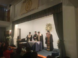 Την Βασιλόπιτα του Ιδρύματος «Στέγη Μητέρας» ευλόγησε ο Αρχιεπίσκοπος