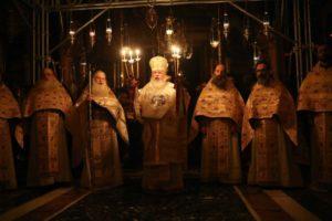 Αγιος Ορος: Πρωτοχρονιά στη Μονή Βατοπαιδίου (ΦΩΤΟ)