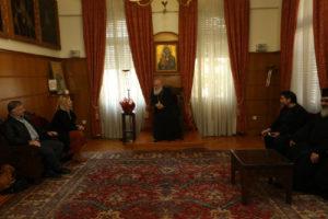 Στον Αρχιεπίσκοπο Ιερώνυμο μεταπτυχιακοί Φοιτητές Θεολογίας