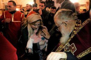 Ο Πατριάρχης των παιδιών : Νονός σε 500 ακόμα παιδιά !