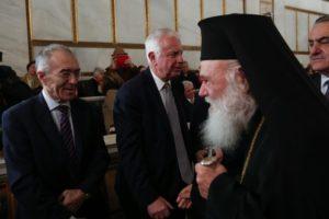 Ο Αρχιεπίσκοπος στην τελετή εγκατάστασης της νέας Προέδρου της Ακαδημίας Αθηνών