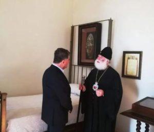 Καΐρο : Στο κελλί του Αγίου Νεκταρίου ο Αρχηγός του Πολεμικού Ναυτικού