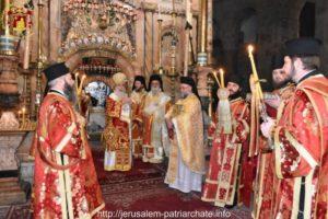 Η εορτή της μνήμης του Αγίου Βασιλείου στο Πατριαρχείο Ιεροσολύμων