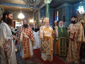 Πάτρα: Ο Επίσκοπος Κερνίτσης στον Ι.Ν. Αγίου Νεκταρίου
