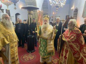 Ο Αγιος Αντώνιος τιμήθηκε στη Μητρόπολη Ιεραπύτνης