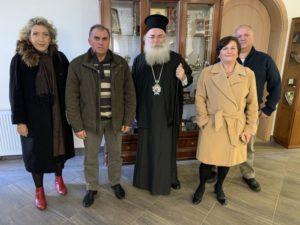 Ο Ιεραπύτνης Κύριλλος ενημερώθηκε για το έργο καταγραφής της παλαιάς πόλης της Ιεράπετρας