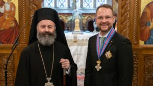 Αυστραλία: Ο Μακάριος τίμησε Γερουσιαστή με το μετάλλιο του «Τάγματος της αγάπης του Χριστού»