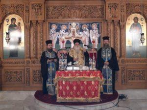 Τη βασιλόπιτα της ιεροψαλτικής οικογένειας ευλόγησε ο Δημητριάδος Ιγνάτιος